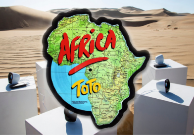 Africa: Toto'nun Namib Çölü'nde Ölümsüzleştirilen Kült Parçası
